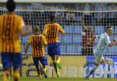 REPORT: Celta 4-1 Barcelona