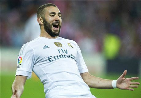 Benzema blasts two past Athletic