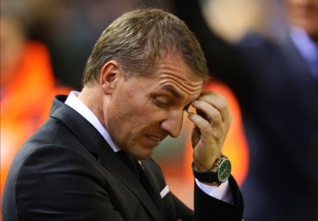 Liverpool sack Rodgers