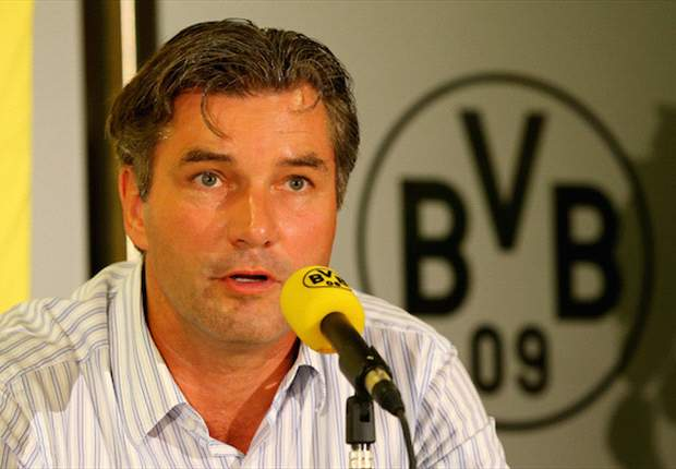 Borussia Dortmund's Zorc: Don't compare us to Bayern Munich