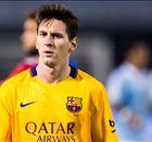 ¿Cuántos partidos se pierde Messi?