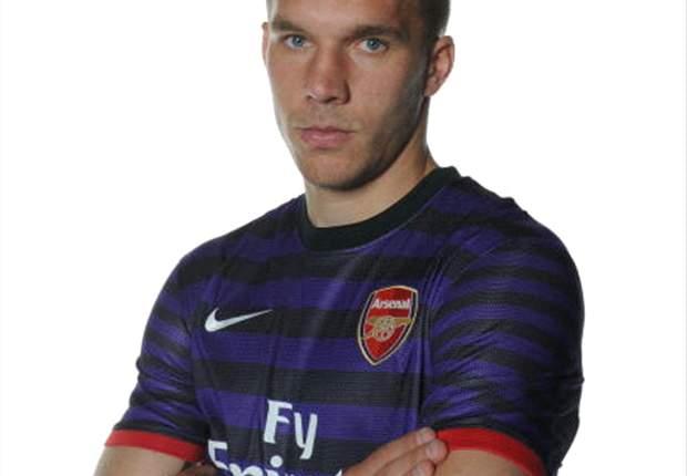 Podolski ziet Arsenal als titelkandidaat
