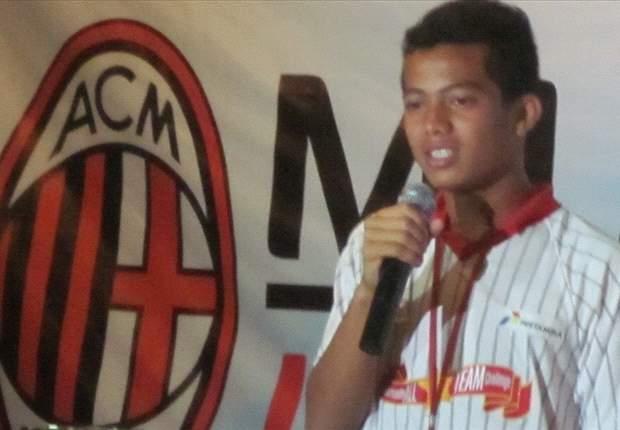 Muhammad Sadam Akui Bawa Beban Berat Di Milan Junior Camp