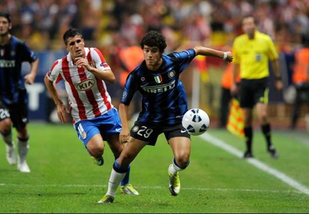 Philippe Coutinho deixa seu gol em amistoso da Internazionale