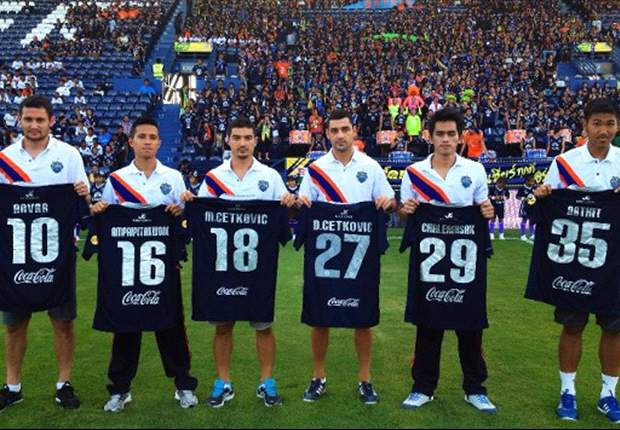 Thai champions Buriram United unveil six new signings