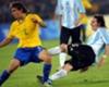 Rafinha adoube Messi et Suarez