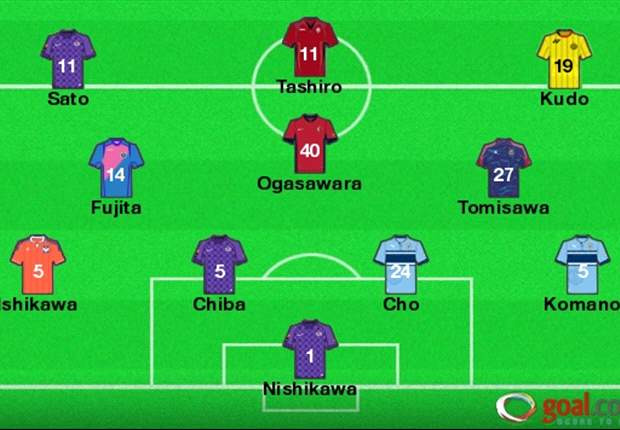 J-League Team of the Week Round 18: First-place Sanfrecce Hiroshima sends three