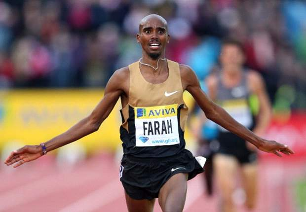 Arsenal fan Mo Farah 'gutted' to see Van Persie move to Manchester United