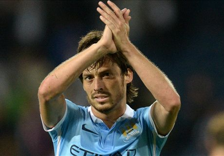 City star Silva ruled out for a month