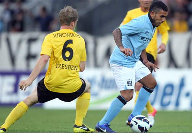 Dynamo Dresden 0-0 Manchester City: Mancini's men labour to goalless stalemate