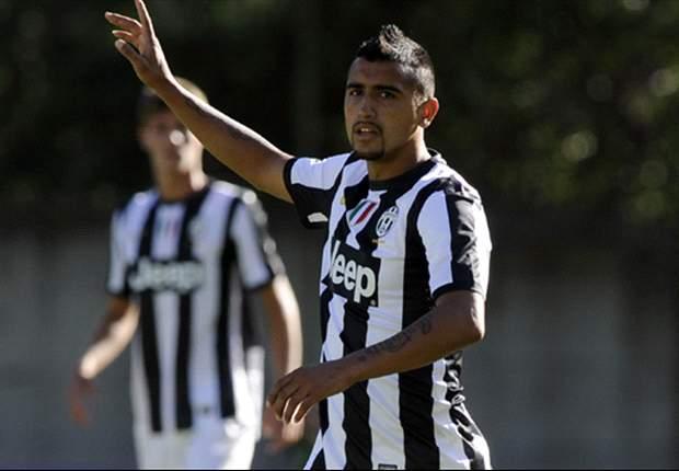 Vidal: I am happy at Juventus
