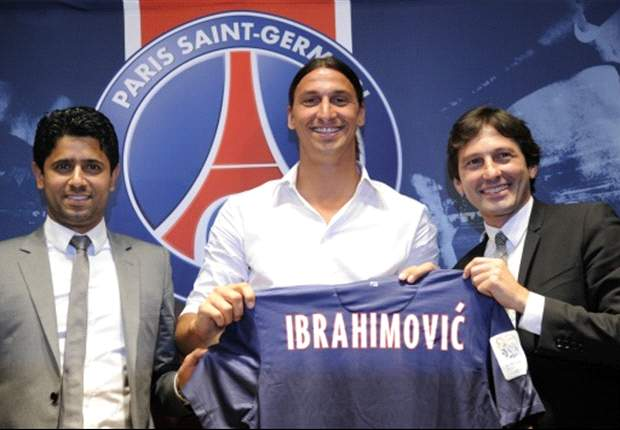 Ibrahimovic to join up with Paris Saint-Germain squad in the United States on Tuesday
