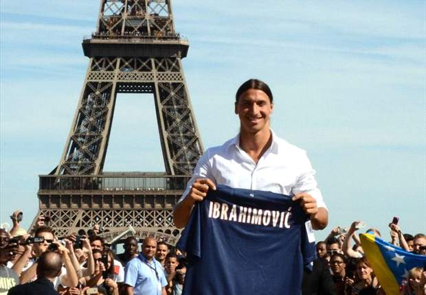 Ibrahimovic praises new teammates: I feel a part of Paris Saint-Germain already