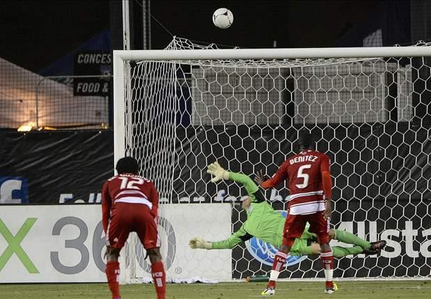 San Jose Earthquakes 2-1 FC Dallas: Jair Benitez misses stoppage time penalty