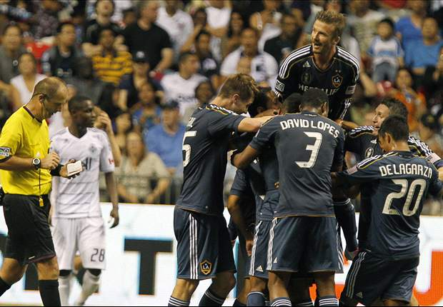 Beckham scores for LA Galaxy again as Team GB prepare for Brazil friendly