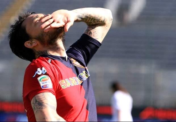 Cagliari Banderol Mauricio Pinilla Di Atas €30 Juta