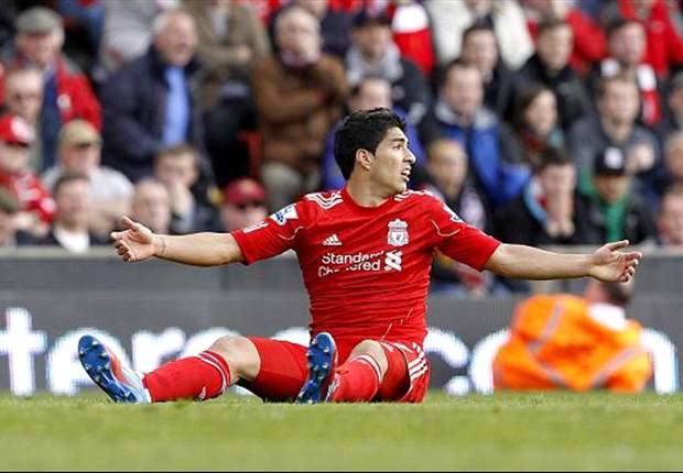 Rodgers, Gerrard and Glen Johnson deny Suarez's 'diver' tag