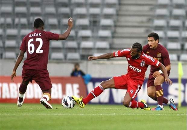Besiktas 0-2 Manchester City: Aguero & Kompany help Premier League champions claim first pre-season win