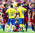 GALERÍA: La lesión de Lionel Messi