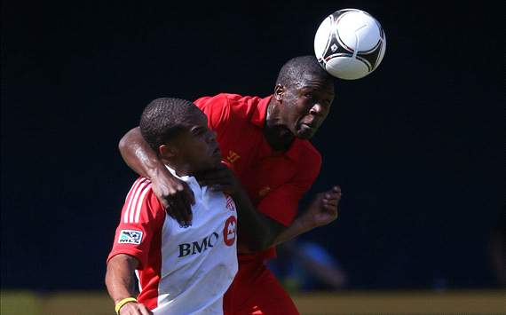 Stephen Sama, Liverpool FC; Ryan Johnson, Toronto FC