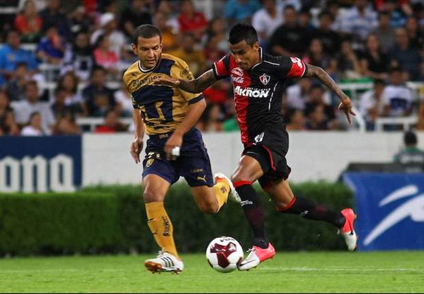 """Pumas 1-1 Atlas: Empate muy Bravo que deleita a los """"Rojinegros"""""""