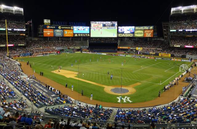 Yankee Stadium hosting two soccer matches this summer