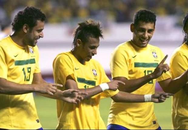 Neymar, Lucas Moura, Damiao, Oscar y Ganso, cinco cracks de Brasil que Europa espera tras Londres 2012