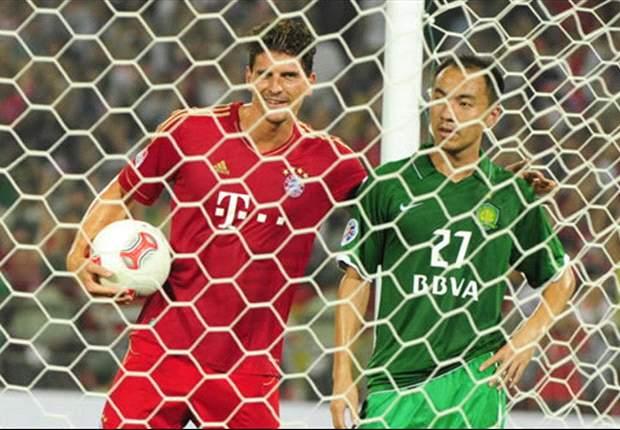 Amical, Le Bayern déroule