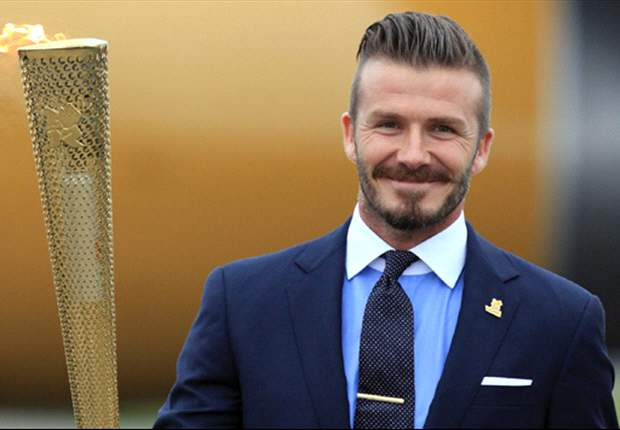 Martin Rogers: David Beckham recalls his first job emptying ashtrays at a dog track near Olympic Stadium