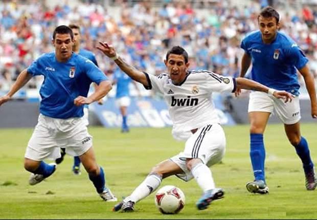 Real Oviedo: 5000 almas le apoyan en la calle, 20500 en su estadio