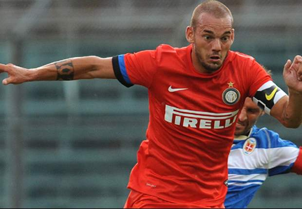 I want to stay at Inter and win trophies, vows Sneijder