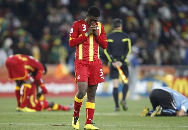 We lost to a better Burkina Faso team - Shattered Asamoah Gyan