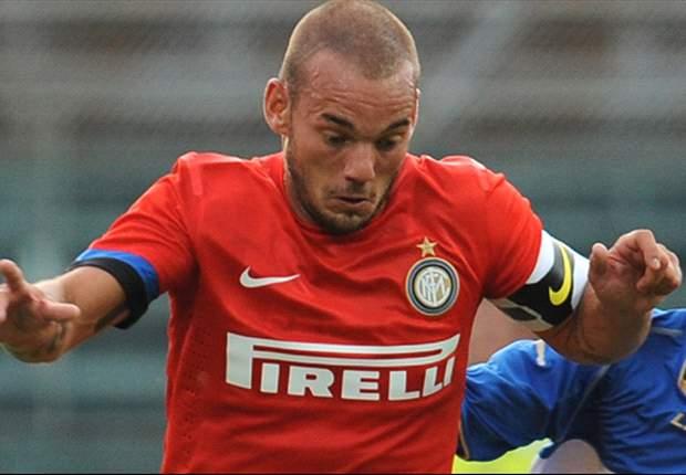 Wesley Sneijder, el último en ser colocado en la agenda de fichajes del Real Madrid