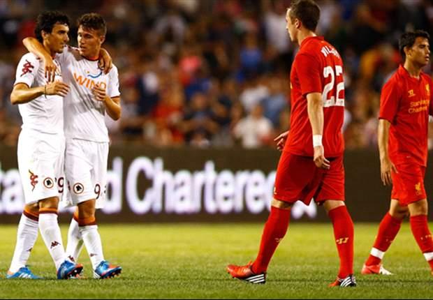 Amichevoli, Liverpool-Roma 1-2: Bradley fa gli onori di casa, Florenzi regala il bis, Zeman si gode un successo di lusso