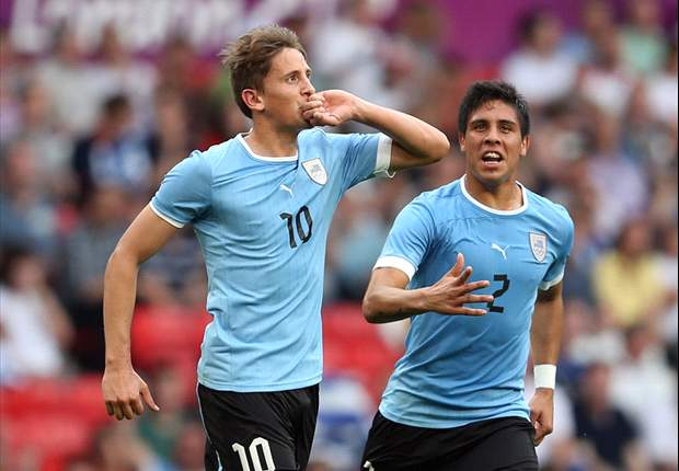 UAE 1-2 Uruguay: Manchester City target Gaston Ramirez nets stunning free kick as La Celeste come from behind to win