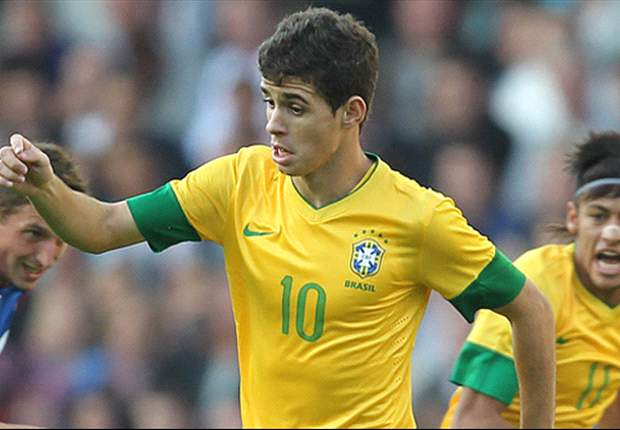 I can't wait to face Chelsea team-mates at Wembley, says Brazil star Oscar