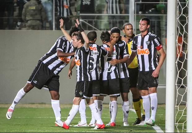 Bola preocupa jogadores do Atlético - MG