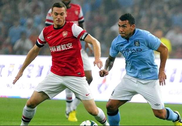 Arsenal are confident ahead of Manchester City clash, warns Vermaelen