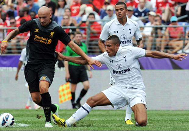 Liverpool 0-0 Tottenham: Rodgers and Villas-Boas see makeshift sides play out pre-season stalemate