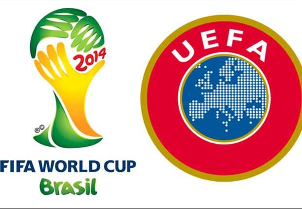 Eliminatorias europeas: Italia-Dinamarca, Alemania-Suecia y todos los partidos de eliminatorias en Europa