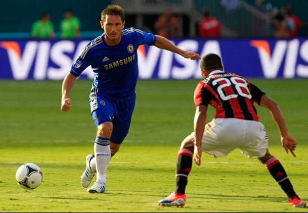 Di Matteo: Lampard out for 'a few' weeks with calf injury