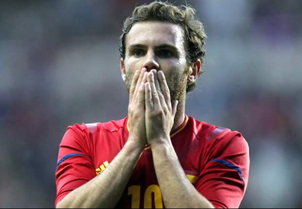 Mata: It is great to be back in Spain squad