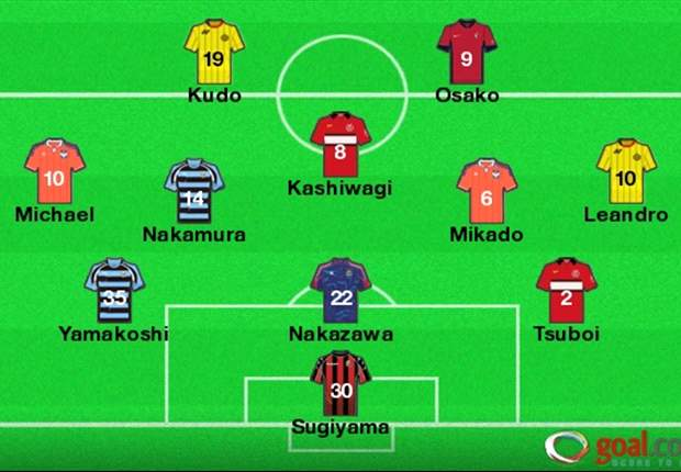 J-League Team of the Week Round 19: Youngster Yamakoshi among this week's selections