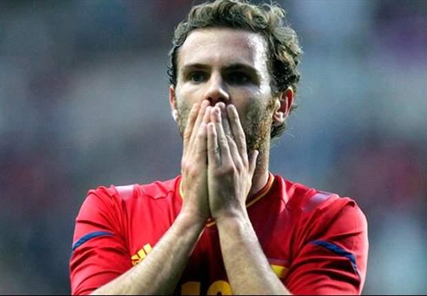 Juan Mata, injustamente descartado por Vicente del Bosque