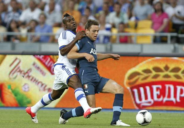 UEFA Champions League: Ideye scores only goal in Dynamo Kiev's win over Feyenoord