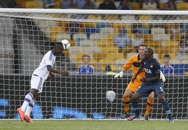 Brown Ideye scores winner for Dynamo Kiev in Uefa Champions League qualifier against Feyenoord