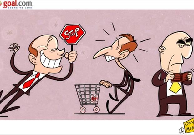 [만평] 쇼핑은 이제 그만