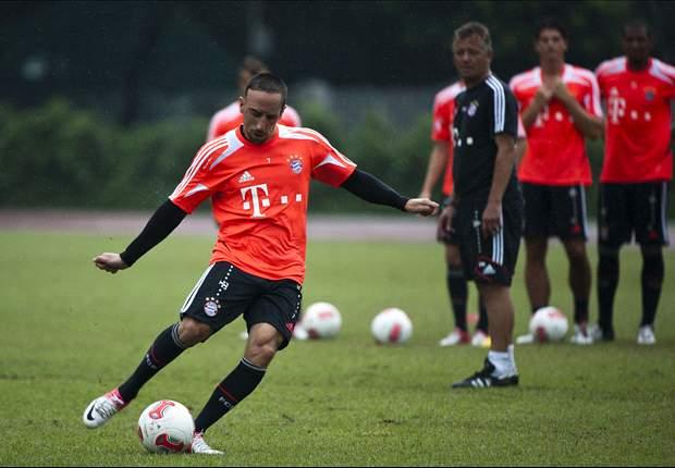 Franck Ribery Terlibat Konfrontasi Dengan Fans