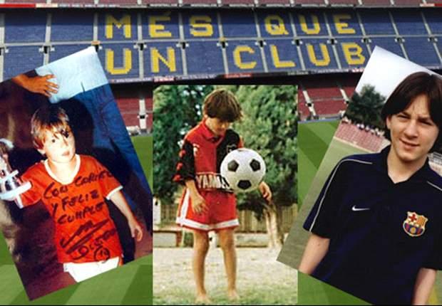 Los recuerdos de la infancia del mejor jugador del mundo