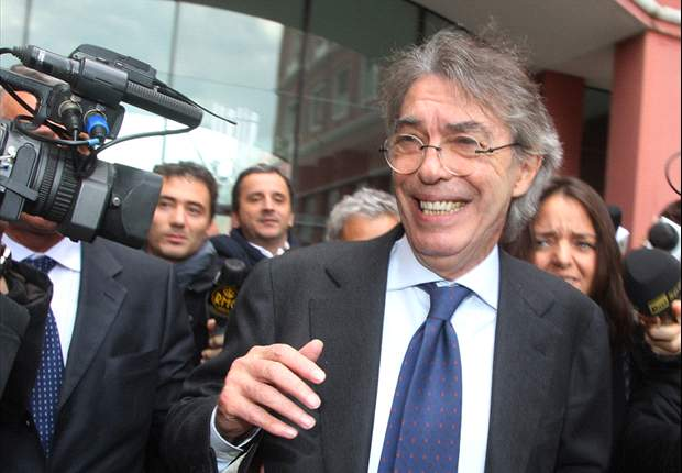 Moratti: Inter not aiming for Serie A title
